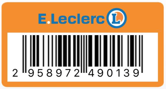 Carte Leclerc.Steeple